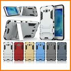 Slim Hybrid Stand Armor Dual Shield ShockProof Defender Back Case Samsung J710