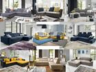 Quality Corner Sofa Bed with storage DAKO multiple choice of models and colours