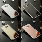 For Samsung Galaxy Ultra Thin Mirror Shockproof Soft Silicone Case Protect Cover