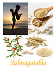 Ashwagandha Root Capsules Indian Ginseng 100% Organic Pure All Natural on eBay