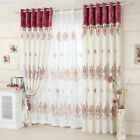 Customized curtain Printing tipping window curtains double layers ON SALES tulle
