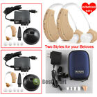 hearing aids amplifiers - 4x Rechargeable Hearing Aids acousticon In/Behind Ear Audiphone Sound Amplifier
