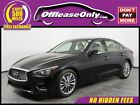 Q50 3.0t LUXE Off Lease Only 2018 INFINITI Q50 3.0t LUXE V6 Cylinder Engine 3.0L/183