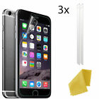 3x Plastic Crystal Clear Screen Guard Protector For Various Mobile Phone New