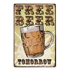 New Wine Beers Style Retro Art Tin Sign Bar Pub Club Cafe Store Home Wall Decor