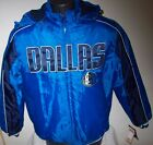 DALLAS MAVERICKS Winter Jacket Parka Fleece Lining BLUE/NAVY MEDIUM, LARGE, 2X on eBay