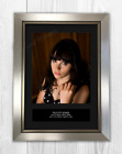 Felicity Jones - Star Wars Signed Photo Print Mounted Quality A4 Reproduction £29.95 GBP on eBay