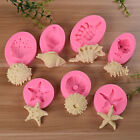 chocolate fish - USA Sea Shells Starfish Silicone Mould Cake Chocolate Ice Cake Decorating Mold Q