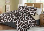2/3-Piece Bed Cover Animal Print Quilt Bedspread Coverlet Pillowcase Set image