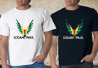 New Maverick Logan Paul Bird Black & White T Shirt XS-3XL
