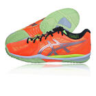 Asics Mens Gel-Fireblast 2 Indoor Court Shoe Orange Yellow Sports Trainers