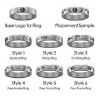 Loyola Marymount Lions Hunting and Fishing Ring | Stainless Steel 8mm Wide