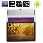 """10.1"""" ANDROID 7.0 TABLET PC 4G Dual SIM 64GB OCTA CORE 4GB RAM WiFi New"""