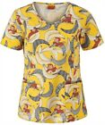 Cherokee Tooniforms Dr Seuss Hello Kitty Betty Boop Curious George Scrub Tops