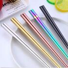 1 Pair Colorful Chopsticks Metal Chinese Stainless Steel  Luxury Reusable Great