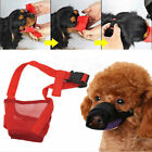 Puppy Stop Chewing Muzzle Safety Soft Adjustable Pet Dogs Mouth Mask Newly Nylon