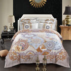 Duvet Doona Quilt Cover Set Queen/King Size Long-Staple Pillow cases Set Cotton