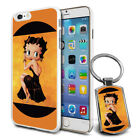 Betty Boop Design Hard Case Cover & Free Keyring For Various Mobiles - 18 $9.46 AUD on eBay