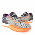 Mens Adidas Crazylight Boost Low 2016 Grey Basketball Shoes BB8384 NEW