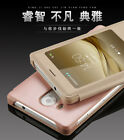For Huawei Mate 8 Shockproof View Smart Window View Flip PU Leather Case Cover