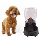 Automatic pet dog cat puppy water dispenser food dish bowl feeder fountain clean