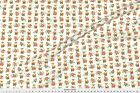 Fox Woodland Autumn Floral Fabric Printed by Spoonflower BTY