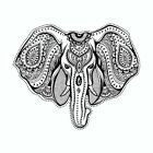 Elephant Mandala Art Tribal Vinyl Car Window Decal Sticker $5.99 USD on eBay
