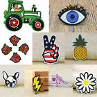 Embroidered Patch Iron On Sew On Patch For Clothing Fashion DIY Design $5.99 USD on eBay
