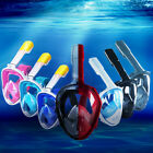 Swimming Full Face Anti-Fog Mask Surface Diving Snorkel Scuba for GoPro L/XL/S/M