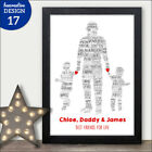 Personalised Happy Fathers Day Gifts for Daddy Dad from Daughter Son for Daddy