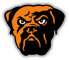 """Cleveland Browns NFL Football Face Car Bumper Sticker Decal  - 3'', 5"""" or  6'' $3.75 USD on eBay"""