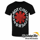 Official Red Hot Chili Peppers Logo Rock Band T-Shirt