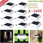10PCS LED High Brightness Solar Power Garden Security Lamp Outdoor Wall Light OY