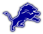 Detroit Lions NFL Dark Logo Car Bumper Sticker Decal   -9'', 12'' or 14'' on eBay