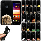 For ZTE Blade X Z965 Animal Design TPU Black Silicone Soft Gel Skin Cover Case
