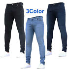 Ultra Skinny Mens Jeans Stretchy Straight Biker Hombre Slim Fit Pencil Pants 3XL