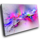 ZAB969 Retro Colourful Cool Modern Canvas Abstract Home Wall Art Picture Prints