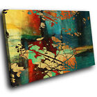 AB898 Retro Colourful Cool Modern Abstract Canvas Wall Art Large Picture Prints