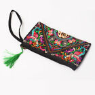 Women Ethnic National Retro Butterfly Flower Bags Handbag Coin Purse