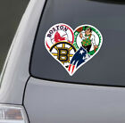 Love Boston Sports Car Sticker Decal | Patriots Celtics Red Soxs Bruins on eBay