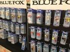 Vibrax Blue Fox Fresh Water Spinners, Trout, Seatrout & Salmon Fishing Lures