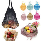 cotton string bag - 1PCS Reusable Mesh Cotton Net Market String Bag Organizer For Outdoor Packing