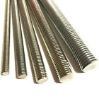 M6 / 6mm A4 MARINE STAINLESS STEEL Threaded Bar - Rod Studding Studs