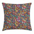 26 by 26 pillow case - Psychedelic Throw Pillow Cases Cushion Covers by Ambesonne Home Decor 8 Sizes