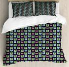 Geek Duvet Cover Set Twin Queen King Sizes with Pillow Shams Bedding