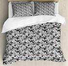 Hipster Duvet Cover Set Twin Queen King Sizes with Pillow Shams Bedding