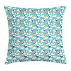 FixedPricenursery airplane throw pillow cases cushion covers ambesonne home decor 8 sizes