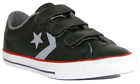 Converse Kids Star Player Ev 2V Ox Trainers Junior Children Shoes 658155C Black