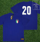 Italy Shirt - Toffs Licensed Retro Football Shirt - Number 20 - Paolo Rossi
