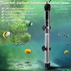 Submersible Heater Heating Rod for Aquarium Glass Fish Tank Temperature
